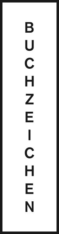 Logo Buchhandlung Buchzeichen, Langenthal